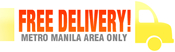 FREE DELIVERY! Anywhere in the Philippines